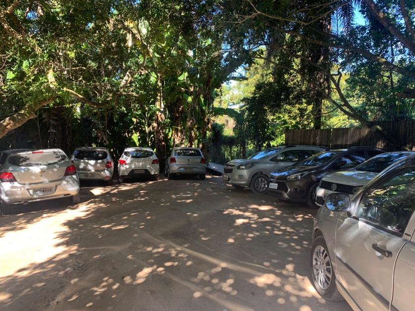 Estacionamento da Praia do Rio Verde