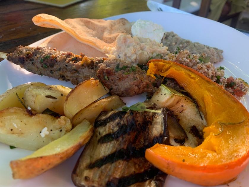 Dia de comida árabe
