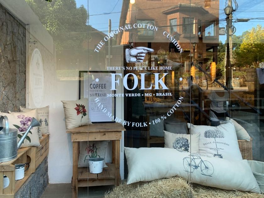 Produtos artesanais da Folk