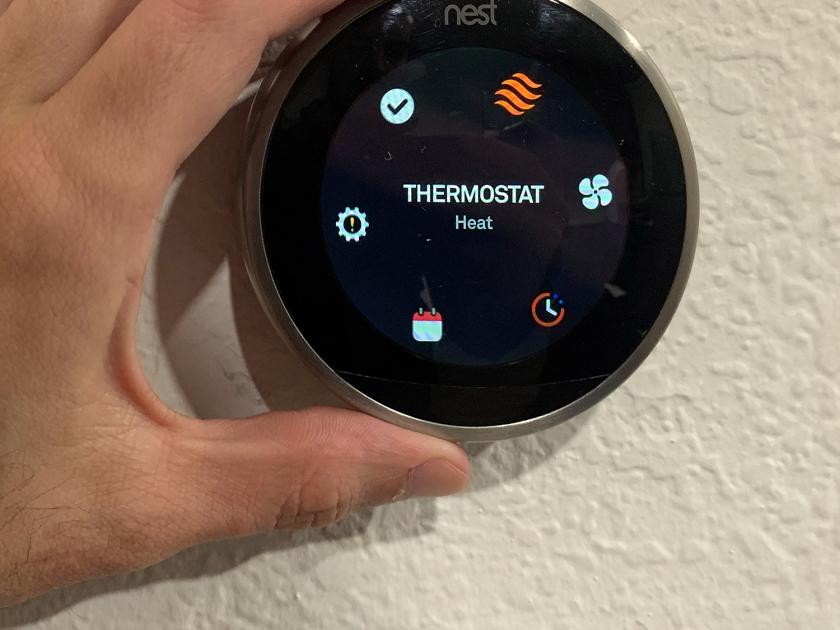 Controle da temperatura e outros recursos