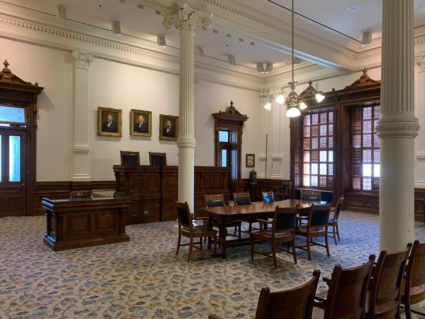 Court of Criminal Appeals Courtroom