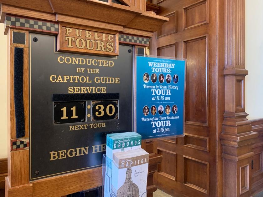 Local e horário das visitas guiadas
