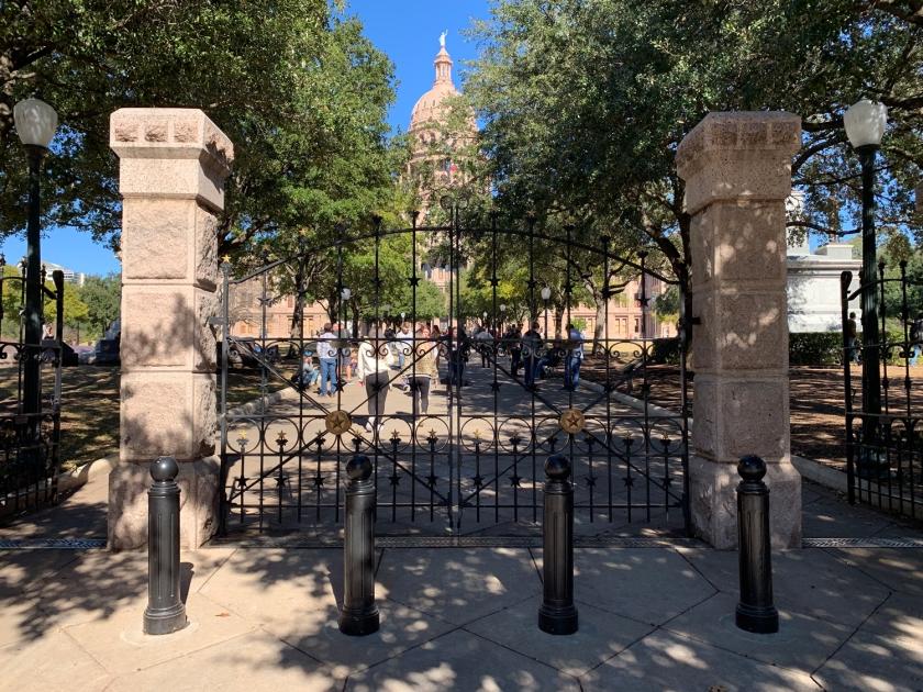Portão da entrada principal