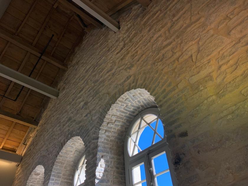 Estrutura interna do prédio