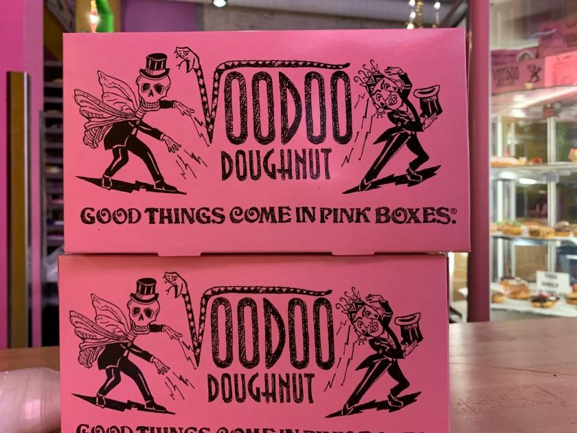 A clássica caixa rosa