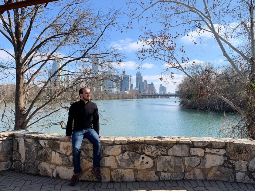 Vista do Lady Bird Lake