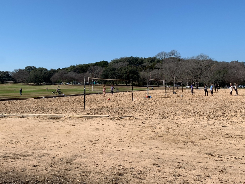 Quadras de vôlei de praia