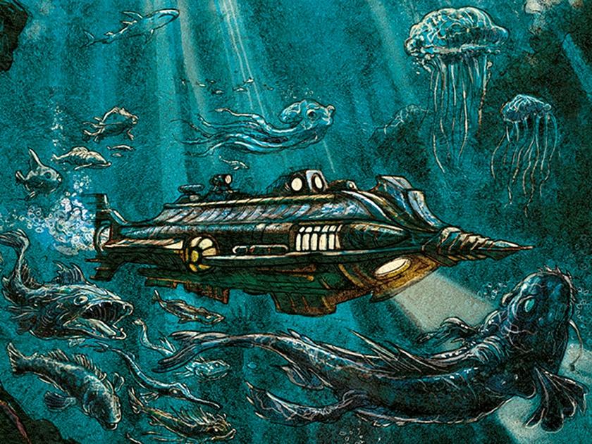 Profundezas do oceano