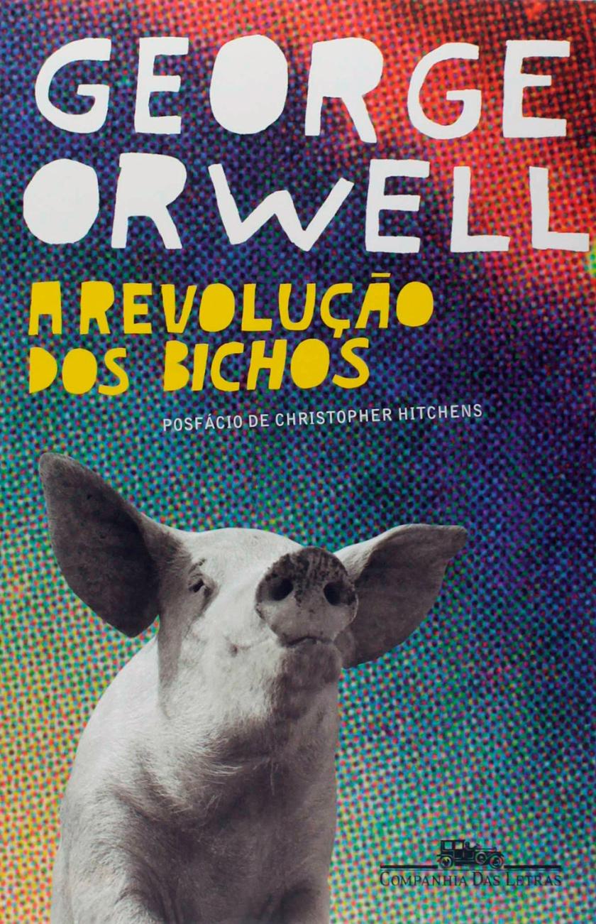 Capa do livro A revolução dos bichos