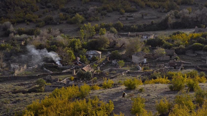 A remota vila de Bekirlija
