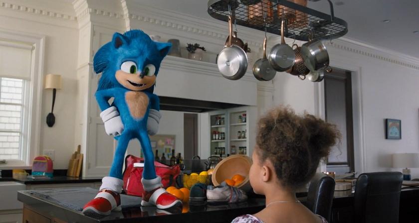 Sonic após mudanças estéticas