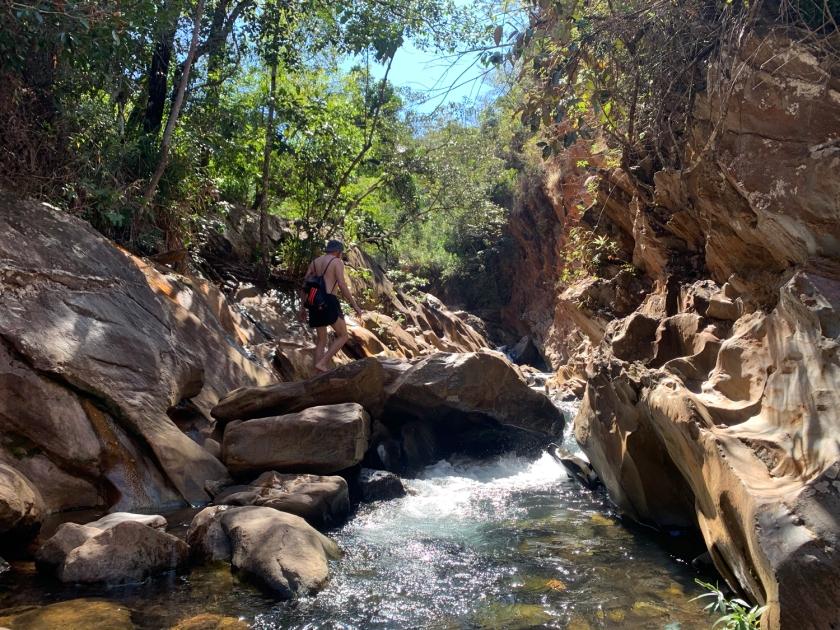Acesso à Cachoeira da Ostra