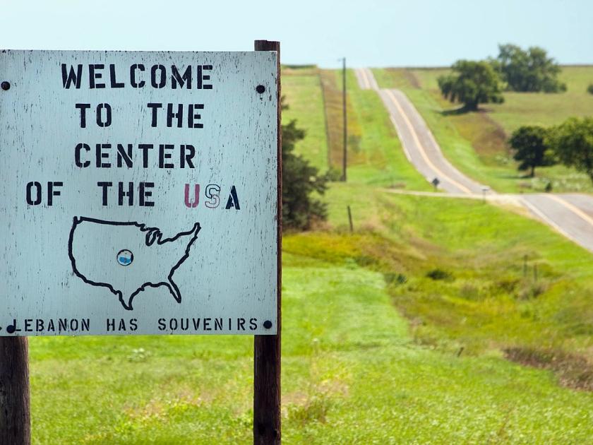 Centro dos Estados Unidos
