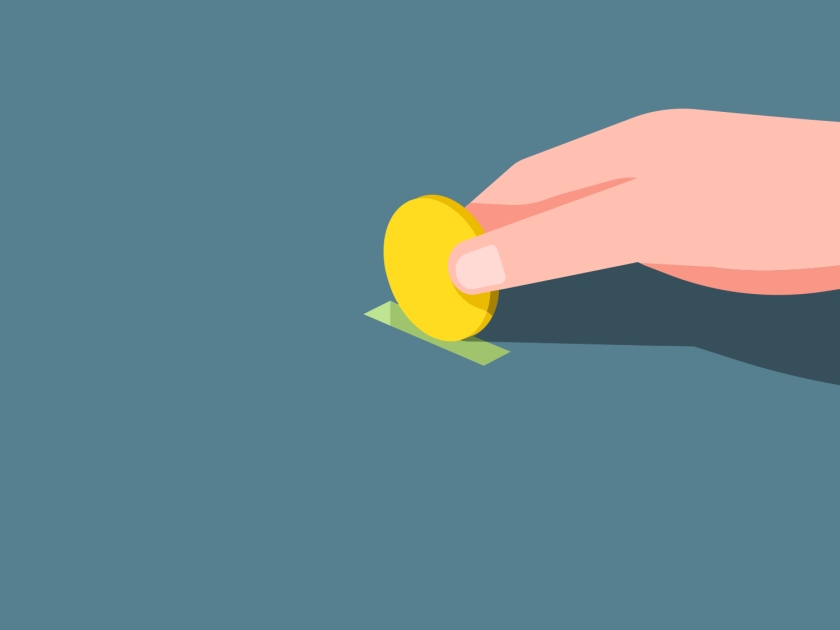 Doação de moeda