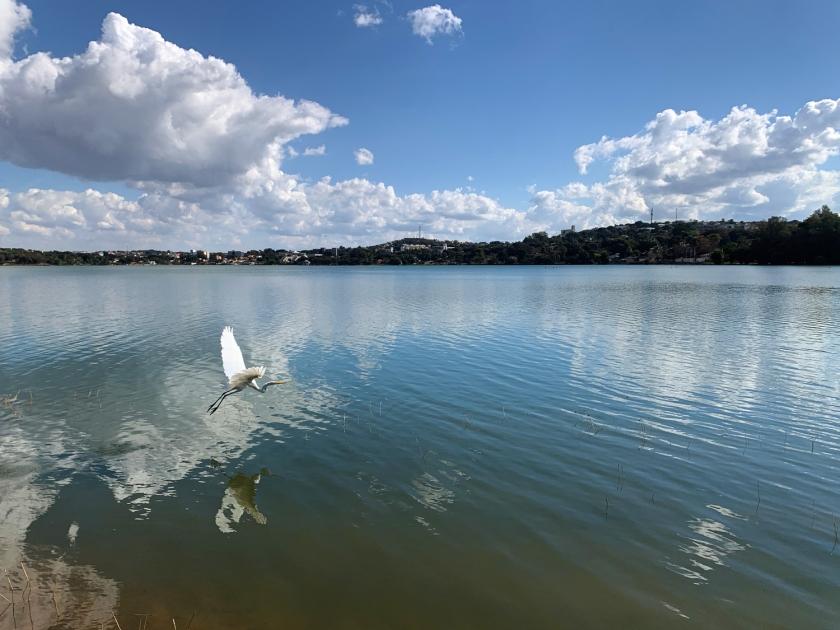 Orla central de Lagoa Santa
