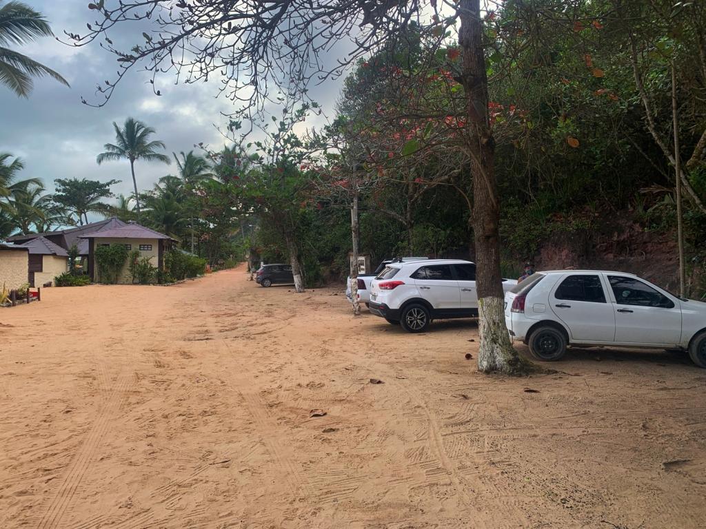 Estacionamento na praia