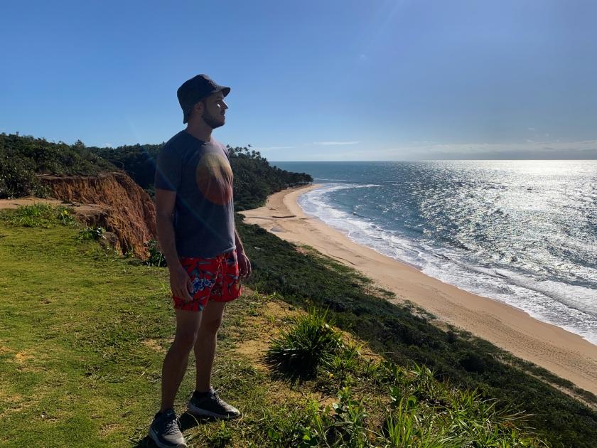 Vista da Praia da Pitinga