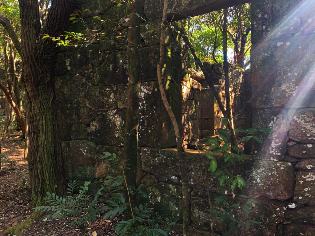 Ruínas do Forte de Brumadinho