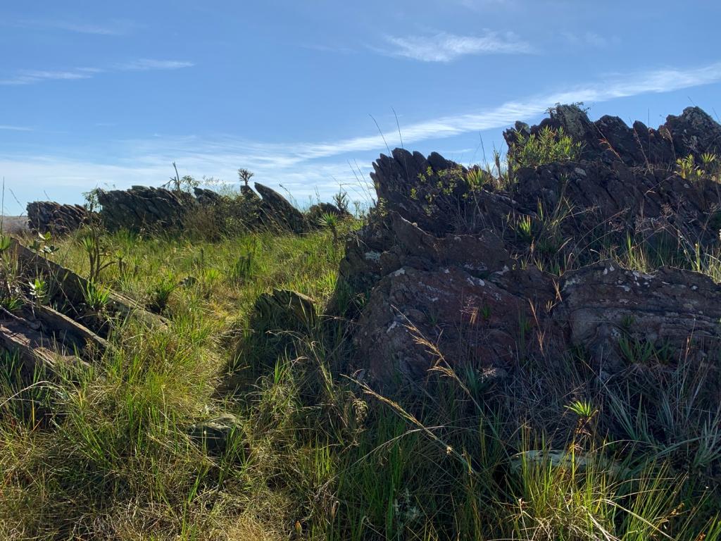 Rochas esculpidas pela erosão