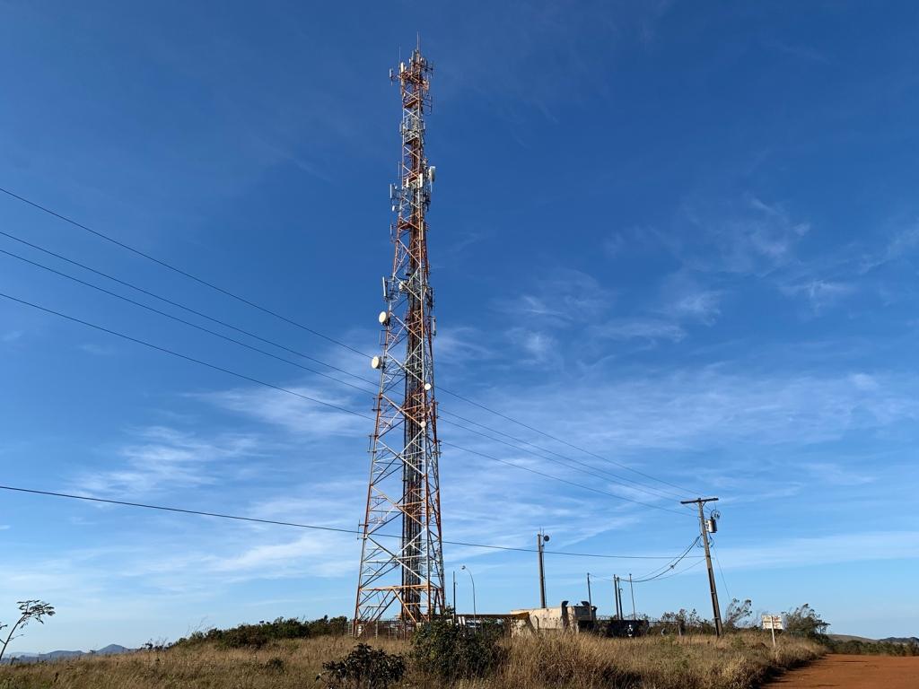 Torre que serve como referência