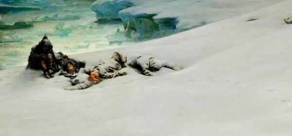 Tragédia no gelo