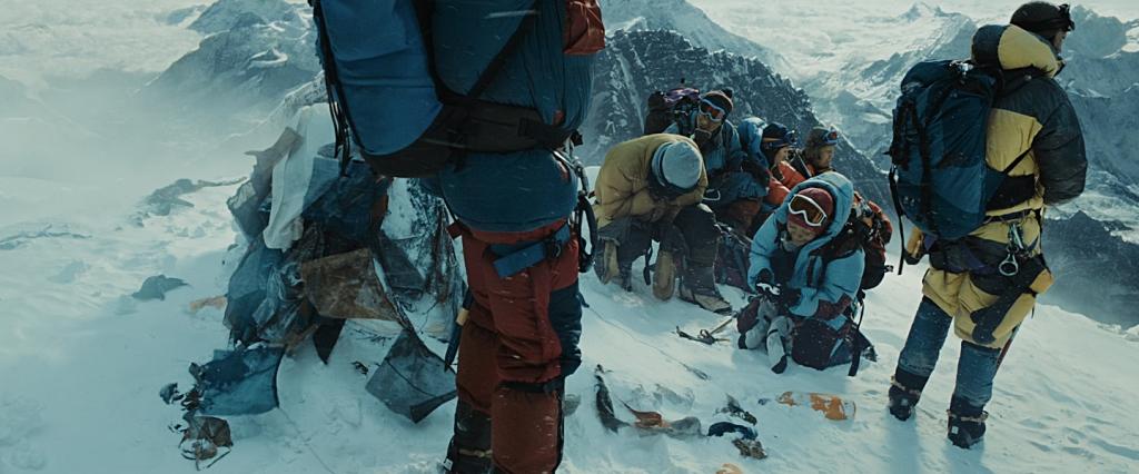 Chegada ao cume do Monte Everest