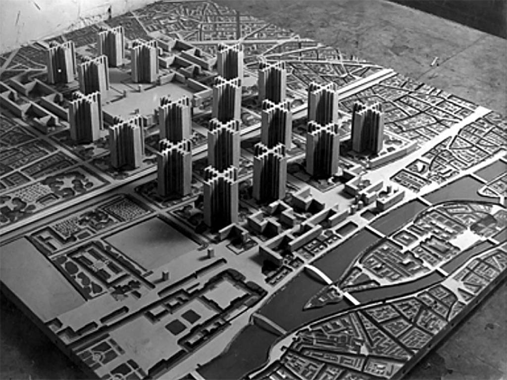 Plano de uma cidade