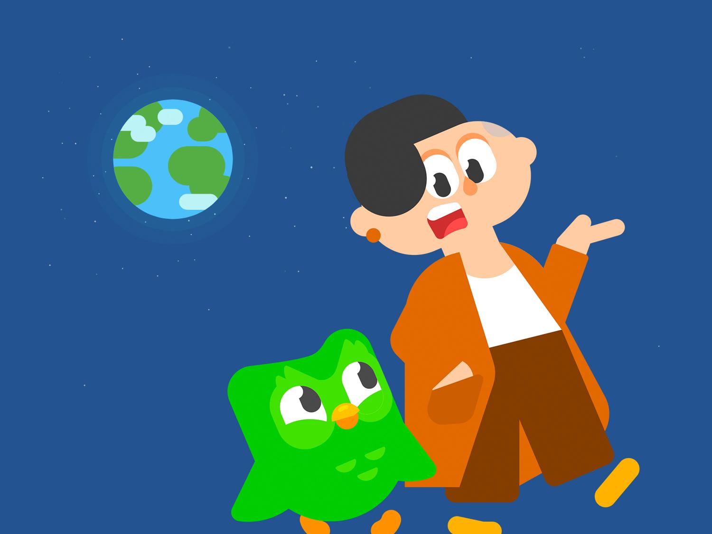 Aprenda outros idiomas com o Duolingo