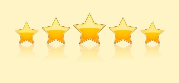 Classificação de hotéis com estrelas