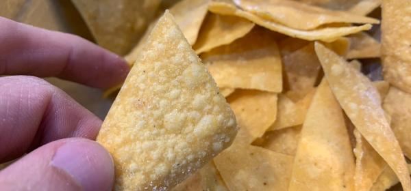 Receita de totopos mexicanos