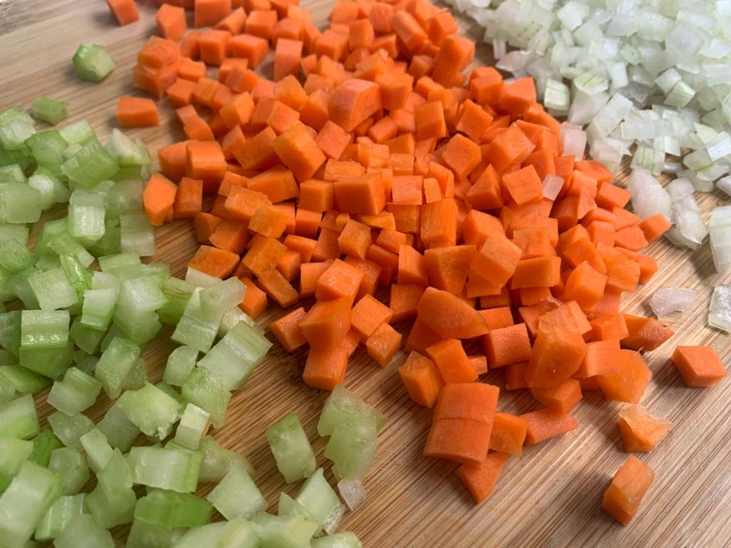 Use legumes de sua preferência