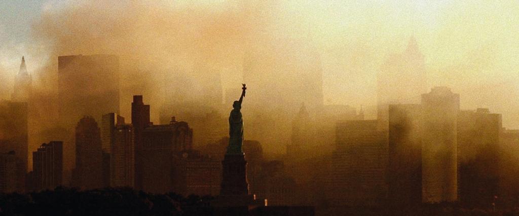 Nova York tomada pela fumaça