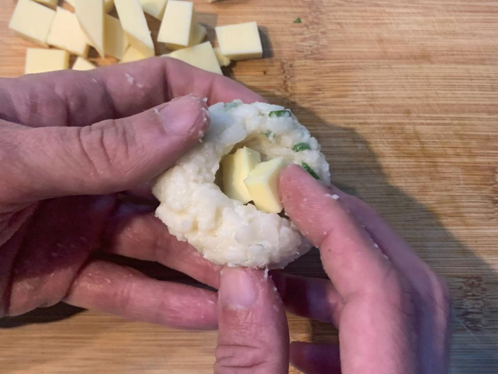 Recheio de queijo