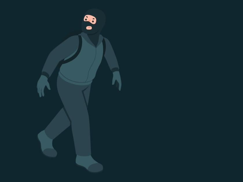 Cuidado com os roubos