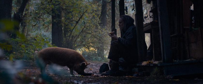 Personagem principal e sua porca